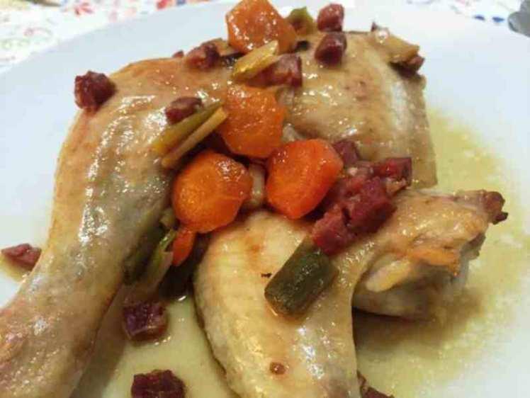 Pollo al Horno con Verduras Fácil