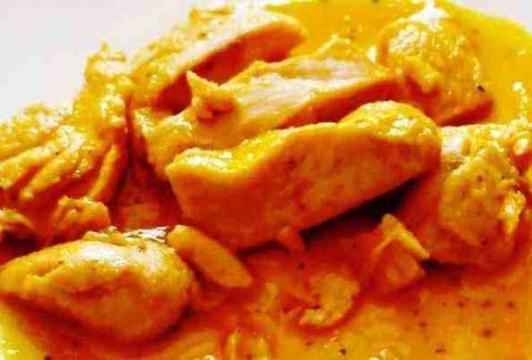 Pollo Con Salsa De Naranja En Microondas