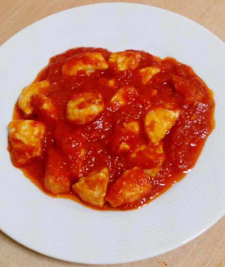 Pollo con Tomate Frito Artesano