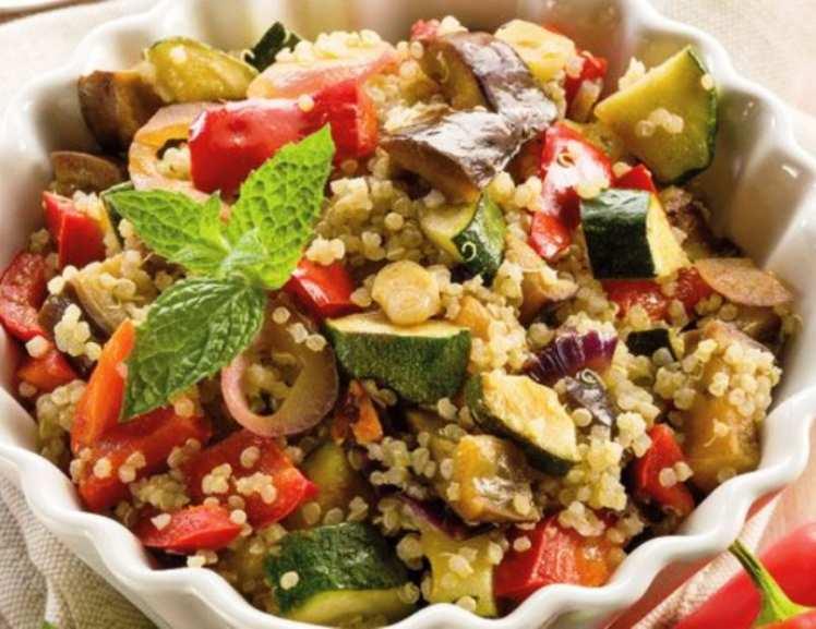 Quinoa con Vegetales