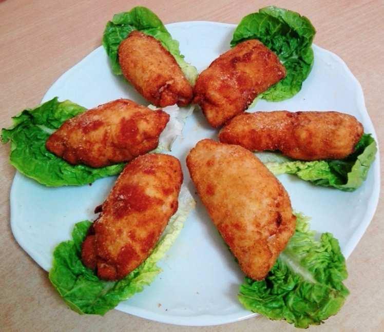Rollitos de Pollo con Queso