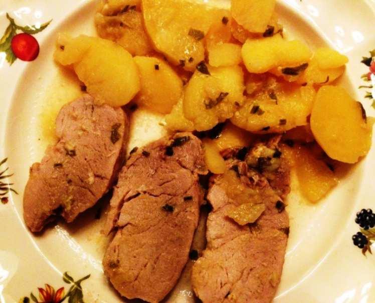 Solomillo al horno con salsa de cebolla mis recetas caseras Solomillo iberico al horno