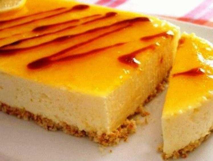 Tarta de Limón con Canela