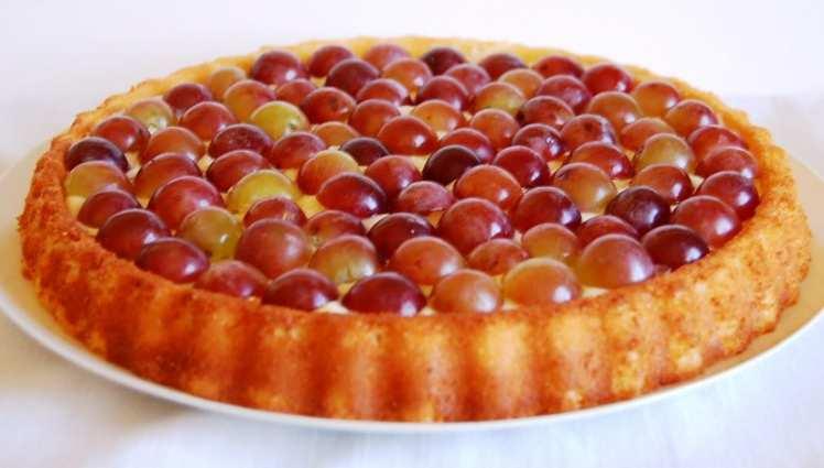 Tarta de Uvas para Nochevieja