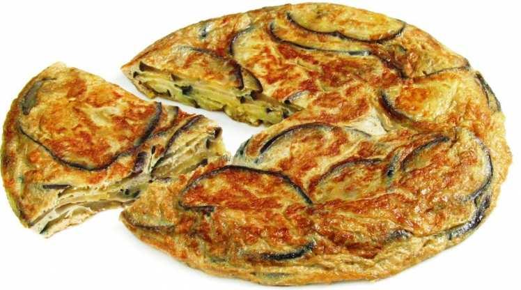 Tortilla de Berenjenas