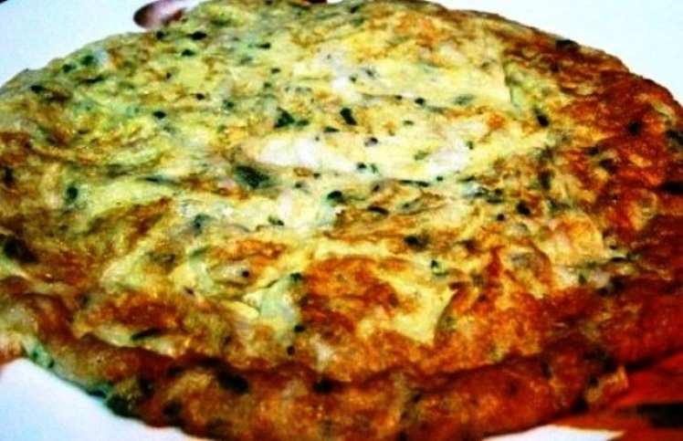 Tortilla de Cebollas al Perejil