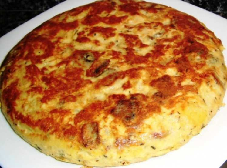tortilla pollo