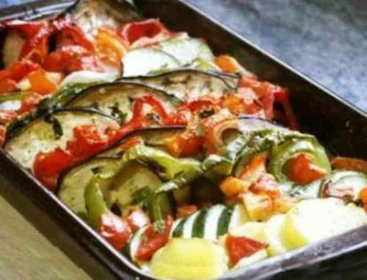 Verduras al horno con salsa zanahoria mis recetas caseras - Salsa para verduras al horno ...