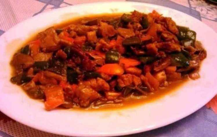 Wok De Verduras Con Solomillo De Pavo