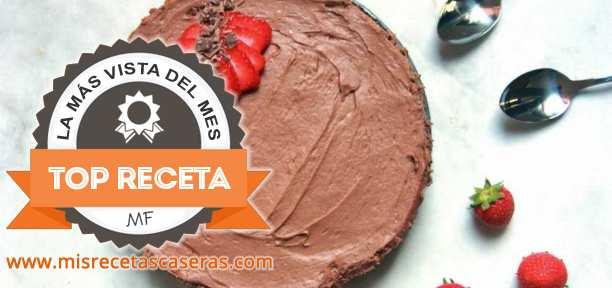 RECETA MÁS VISTA: Tarta Mousse de Chocolate y Galleta