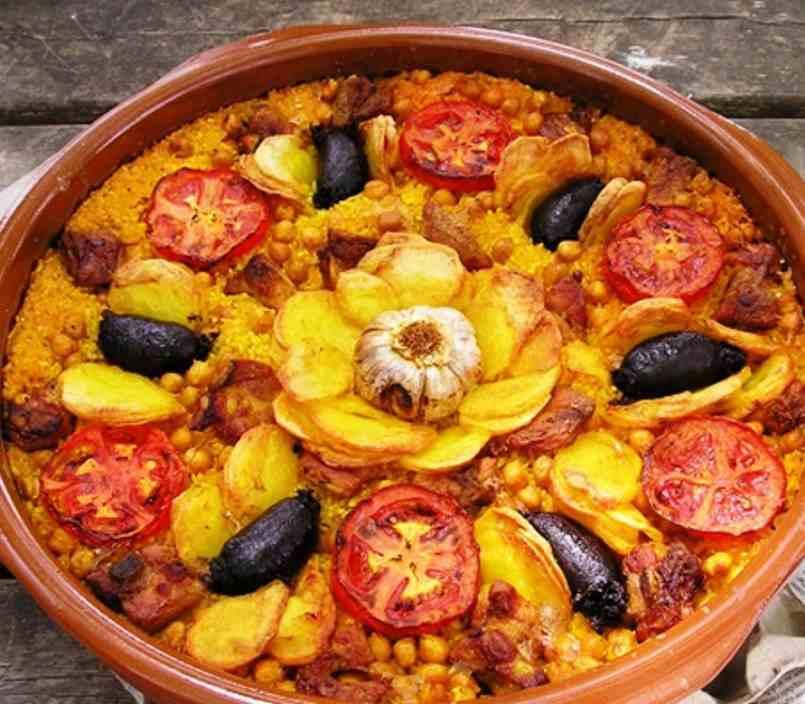 Receta arroz al horno valenciano mis recetas caseras - Recetas de bogavante al horno ...