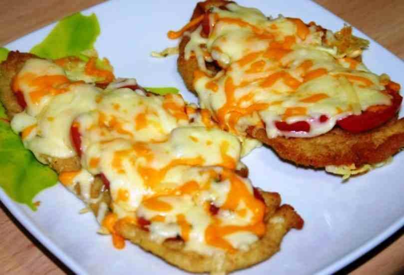 Receta Pechuga De Pollo Con Tomate Gratinada Mis Recetas